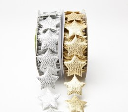 481 1.5″x10y Metallic Star Banner Group
