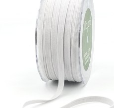 White Elastic Ribbon
