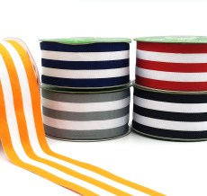 Striped Grosgrain Ribbons