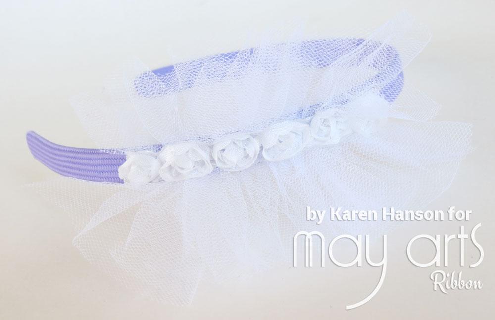 Embellished Tulle Headband Tutorial