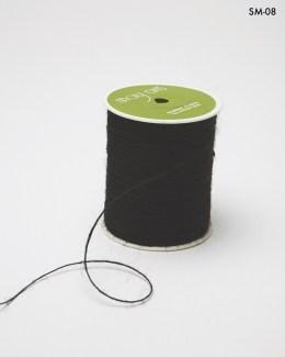 black burlap string jute cord
