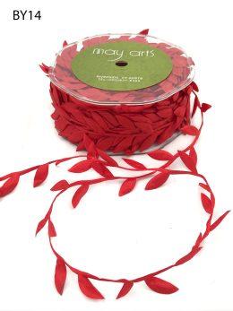 red leaf ribbon