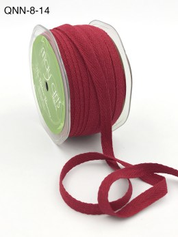 red twill cotton ribbon