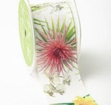 Tropical Flower Ribbon