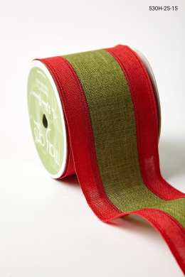 """2.5"""" 530H-25-15 RED/GREEN CENTER BAND"""