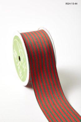 "1.5"" RGH-15-44 RED/GREEN STRIPE"