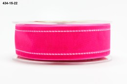 Variation #155145 of 1.5 Inch Sheer / White Stitched Edge Ribbon
