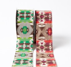 2.5 Inch Southwestern Graphic Pattern Ribbon