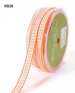 Variation #151028 of 3/8 Inch Solid Checkered Ribbon