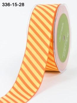 Variation #154096 of Team Spirit Trend – 1.5 Inch Grosgrain Ribbon w/ Diagonal Stripes