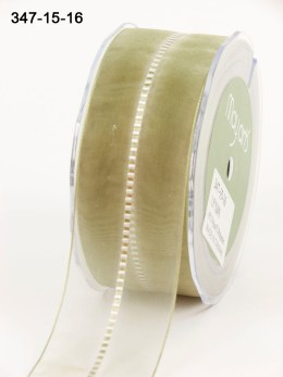 Variation #154156 of 1.5 Inch Sheer / Satin Stitched CTR Ribbon