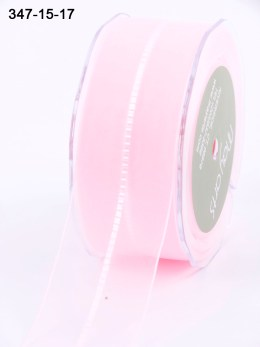 Variation #154157 of 1.5 Inch Sheer / Satin Stitched CTR Ribbon