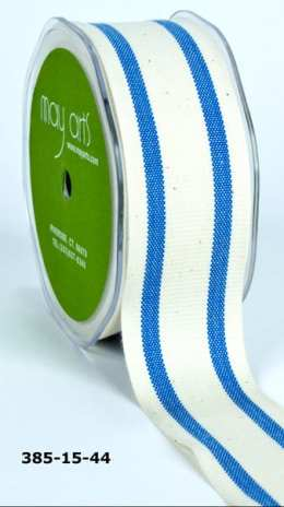 Variation #154812 of 1.5 Inch Cotton / Stripes Ribbon