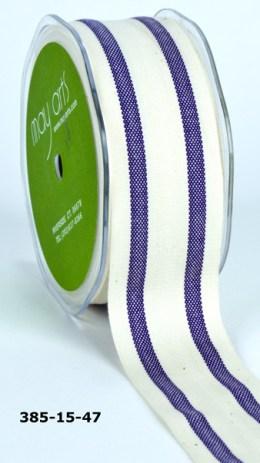 Variation #154814 of 1.5 Inch Cotton / Stripes Ribbon