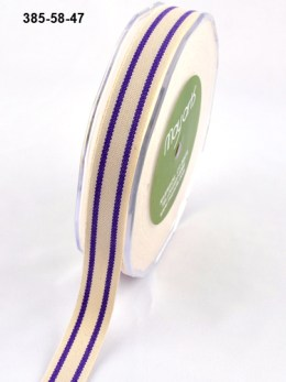 Variation #154618 of 5/8 Inch Cotton / Stripes Ribbon