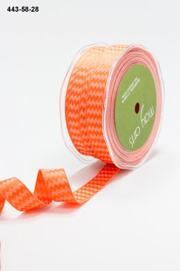 Variation #155220 of 5/8 Inch Woven Chevron Stripes / Wired Ribbon