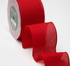 Variation #155341 of 2.5 Inch Woven / Wired Ribbon
