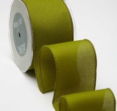 Variation #155342 of 2.5 Inch Woven / Wired Ribbon