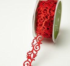 Variation #0 of 7/8 Inch Adhesive Fleur-de-lis Scroll Design