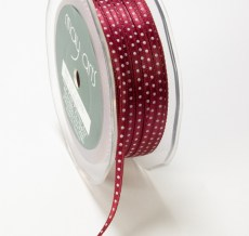 Variation #148574 of 1/8 Inch Satin Center Dot Ribbon