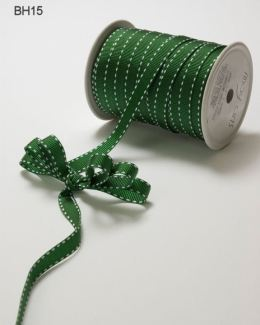 Variation #148669 of 3/8 Inch Grosgrain Stitched Edge Ribbon