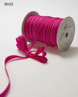 Variation #148672 of 3/8 Inch Grosgrain Stitched Edge Ribbon