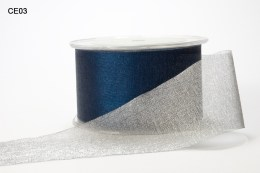 Variation #149127 of 2 Inch Sheer Reversible Ribbon