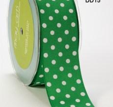 DD-5-15 1.5 Inch Grosgrain Dots Ribbon