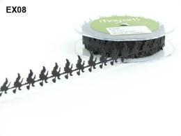 Variation #149875 of 15 Yards Satin Cutouts Ribbon