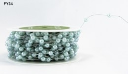 Variation #150110 of 3/16 Inch Beads/Wired Ribbon