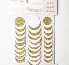 Variation #0 of Gold Glitter Dot Paper Garland
