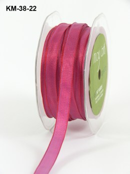 Variation #151210 of 3/8 Inch Solid Two Toned Wired Ribbon