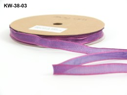 Variation #151322 of 3/8 Inch Woven / Iridescent / Wired Ribbon