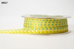 Variation #151403 of 3/8 Inch WOVEN CHECK Ribbon