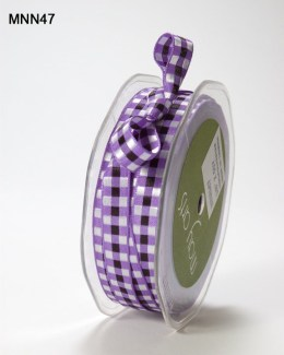 Variation #151475 of 3/8 Inch SOLID/WOVEN CHECK Ribbon