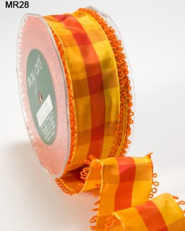 Variation #151481 of 1.5 Inch PLAID/LOOP EDGE/WIRED Ribbon