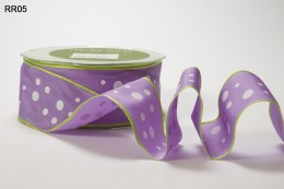 Variation #152492 of 1.5 Inch Solid Print Wired Ribbon
