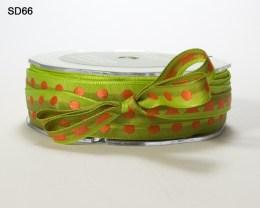 Variation #152596 of 3/8 Inch Solid Center Dot Ribbon
