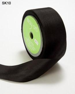 Black Silk Ribbon