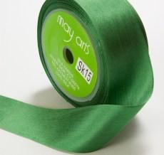 Green Silk Ribbon