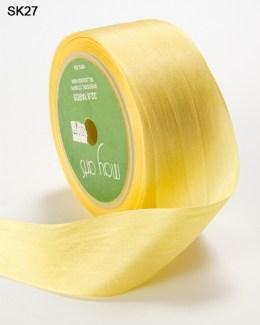 Yellow Silk Ribbon