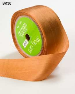 Rust Silk Ribbon