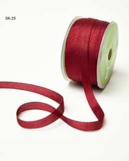 Burgundy Silk Ribbon
