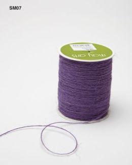Lavender Burlap String Ribbon