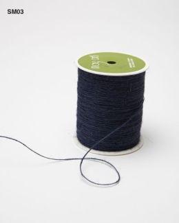 Navy Burlap String Ribbon