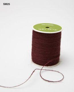 Burgundy Burlap String Ribbon