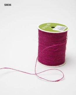 Grape Burlap String Ribbon
