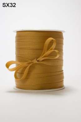Antique Gold Grosgrain Ribbon