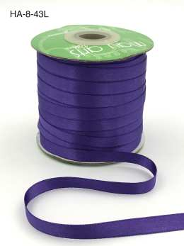 grape double face satin ribbon