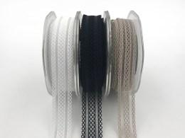 elastic batiste lace ribbons